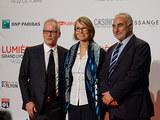 Thierry Frémaux, Françoise Nyssen et Georges Képénékian