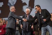 Thierry Frémaux, Bertrand Tavernier et Wong Kar-wai