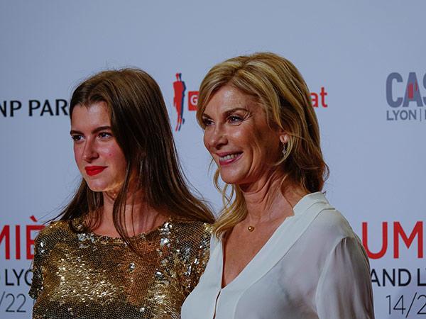 Oriane Deschamps et Michèle Laroque