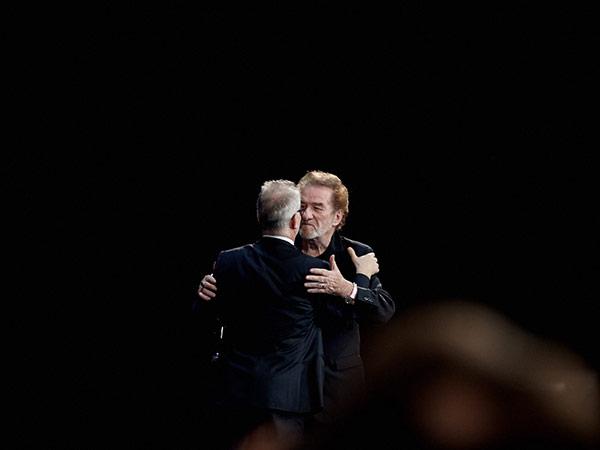 Thierry Frémaux et Eddy Mitchell