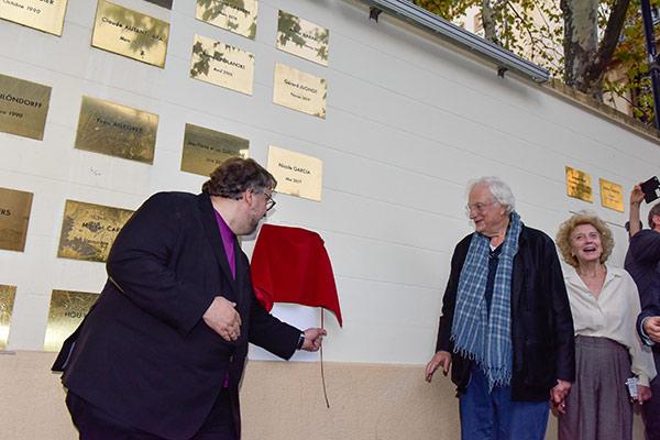 Guillermo Del Toro et Bertrand Tavernier