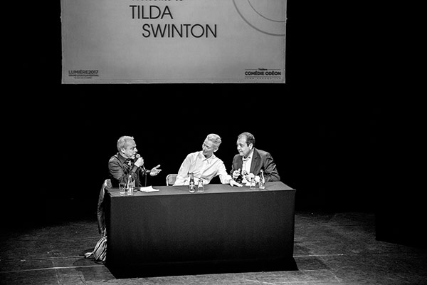 Rencontre avec Tilda Swinton