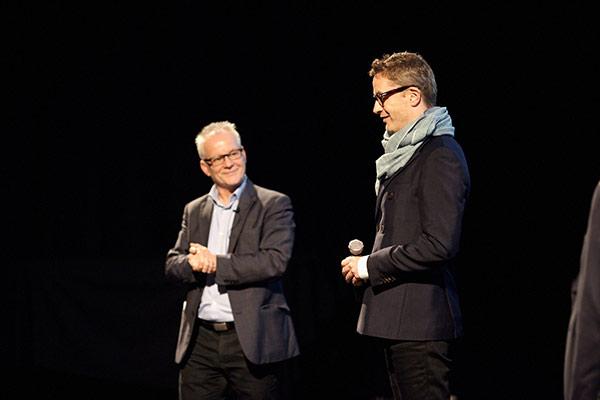 Thierry Frémaux et Nicolas Winding Refn