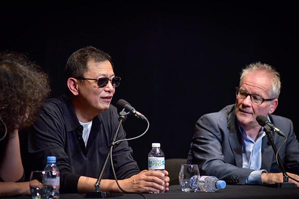Wong Kar-wai et Thierry Frémaux