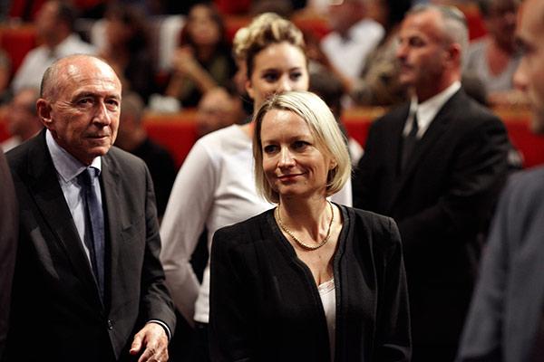 Gérard et Caroline Collomb