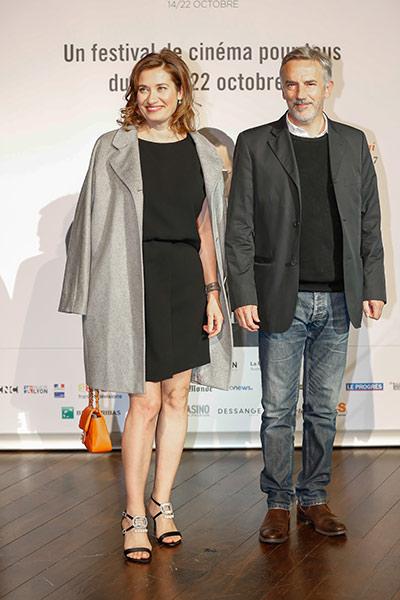 Emmanuelle Devos et Jean-Pierre Lorit