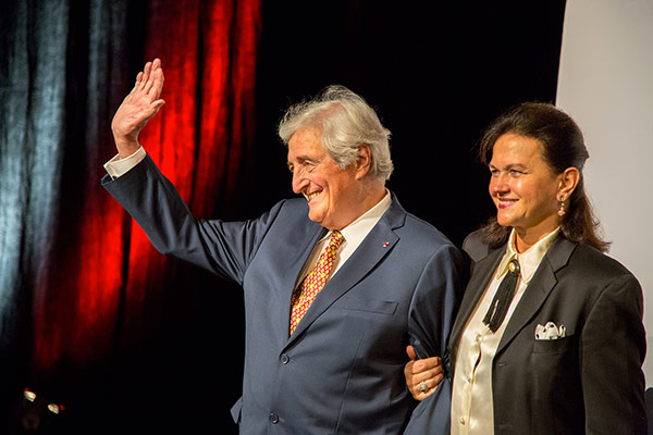 Jean-Loup Dabadie et Véronique Bachet