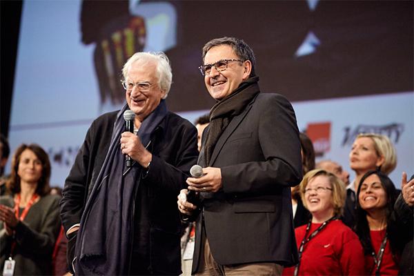 Bertrand Tavernier et David Kimelfeld
