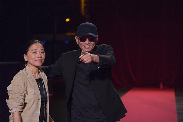Esther Wong et Wong Kar-wai
